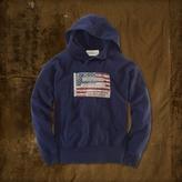 Denim & Supply Ralph Lauren Distressed Flag Hoodie