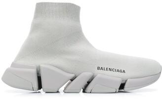 Balenciaga Speed.2 LT Knit Sole sock sneakers