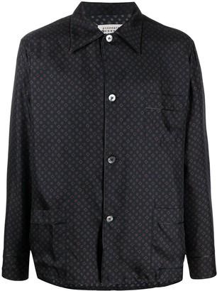 Maison Margiela Tie print shirt