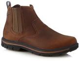 Skechers Brown 'segment Dorton' Chelsea Boots