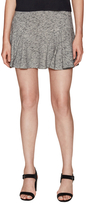 Derek Lam 10 Crosby Cotton Pleat Fit And Flare Skirt