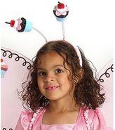 Kids Cupcake Fairy Costume Headband