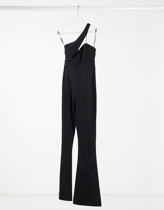Aq/Aq AQAQ cut out detail jumpsuit in black