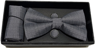 Elie Balleh Boys' Bow Ties GRAY - Gray Bow Tie