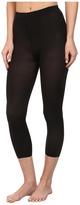 Wolford Velvet 66 Capri Leggings (Black) - Hosiery