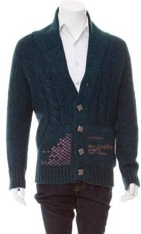 Chanel Paris-Byzance Wool Cardigan
