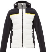 Capranea - Avaloq Hooded Quilted-down Ski Jacket - Mens - White Multi
