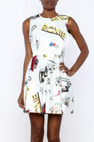Blq Basiq Car Print Dress