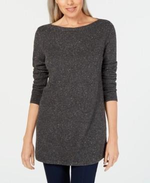 Karen Scott Curved-Hem Tunic Sweater, Created for Macy's
