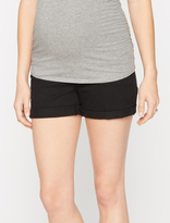 A Pea in the Pod 7 For All Mankind Secret Fit Belly 5 Pocket Maternity Shorts