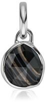 Monica Vinader Women's Siren Black Line Onyx Pendant