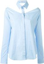 Aalto cut-out shirt - women - Cotton - 40