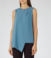 Reiss Christabella Wrap-Front Tank Top