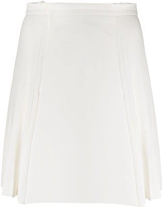 Ermanno Scervino Box Pleat Tennis Skirt