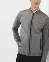 Ted Baker Jersey bomber jacket