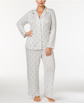 Alfani Plus Size Printed Knit Pajama Set, Only at Macy's