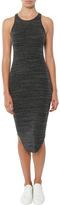 Monrow Stretch Rib Midi Dress