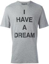 Neil Barrett I Have A Dream print T-shirt - men - Cotton - XS