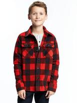 Old Navy Micro Fleece Shirt Jacket for Boys