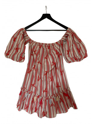 MISA Red Cotton Dresses