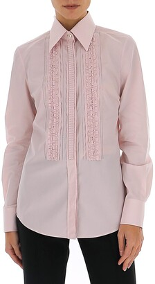 Dolce & Gabbana Ruffled Panel Shirt