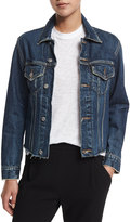 Vince Raw-Edge Denim Jacket, Engineer