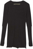 Enza Costa Cashmere Long Sleeve Tee