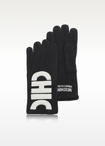 Moschino Cheap & Chic Moschino Cheap and Chic - Color-Block Wool Blend Gloves