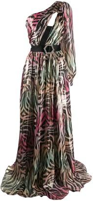 Philipp Plein Jungle maxi dress