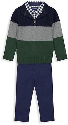 Andy & Evan Little Boy's 3-Piece Sweater Set
