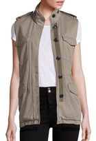 Rag & Bone Bennet Cotton Cargo Vest