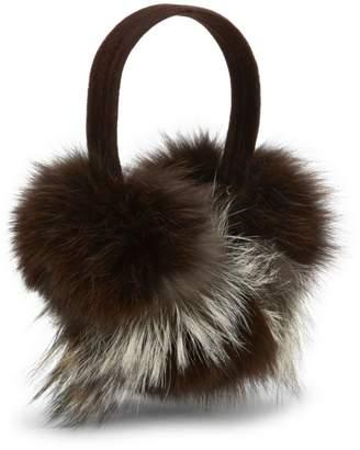 Pologeorgis Fox Fur Earmuffs
