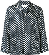 Marc Jacobs polka dot pyjama shirt - men - Silk - M