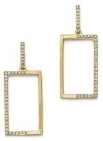 KC Designs Diamond Geometric Drop Earrings in 14K Yellow Gold, .20 ct. t.w.