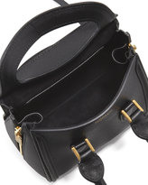 Alexander McQueen Heroine Mini Satchel Bag, Black