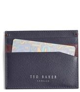 Ted Baker Men's 'Froncko' Leather Card Case - Blue