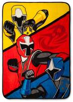 "Power Rangers Throw Blanket (46""x60"")"