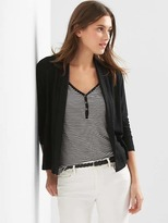 Gap Softspun knit open-front cardigan