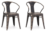 ZUO Helix Dining Chairs (Set of 2)