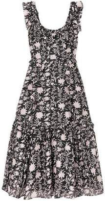 Ulla Johnson Floral-print Cotton And Silk-blend Maxi Dress