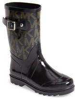 MICHAEL Michael Kors Toddler Girl's 'Daisy Logo' Rain Boot