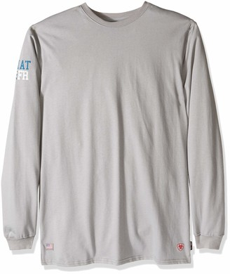 Ariat Men's Flame Resistant CrewWork Utility Tee Shirt