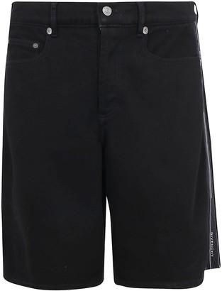 Givenchy Strap Detail Denim Shorts
