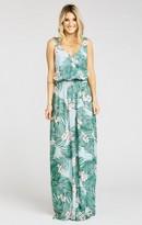 MUMU Kendall Maxi Dress ~ Hanalei Dream