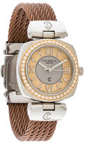 Charriol Two-Tone Diamond Watch