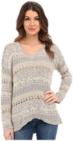 Lucky Brand Mixed Stitch Tunic