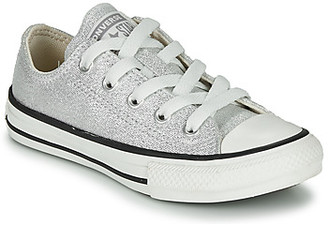 Converse CHUCK TAYLOR ALL STAR SUMMER SPARKLE girls's Shoes (Trainers) in Grey