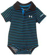 Under Armour Baby Boys Newborn-12 Months Striped Polo Bodysuit