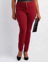 Charlotte Russe Plus Size Refuge Hi-Waist Skinny Jeans