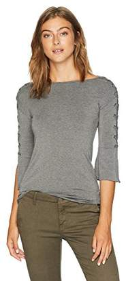 Bailey 44 Women's Alma Mater Lace Up Sleeve Top